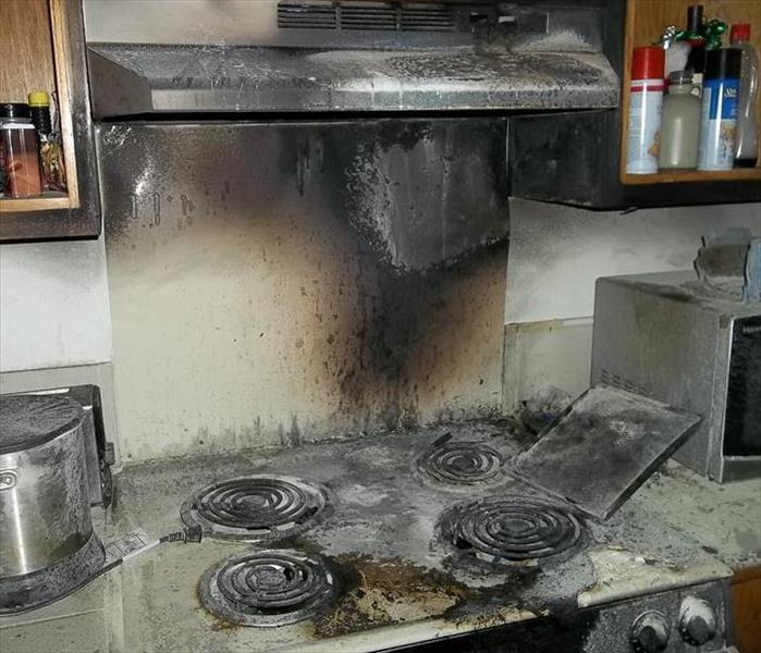 Louisiana Kitchen Fire  Before