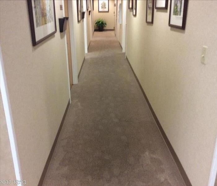 Commercial Water Damage Restoration Before