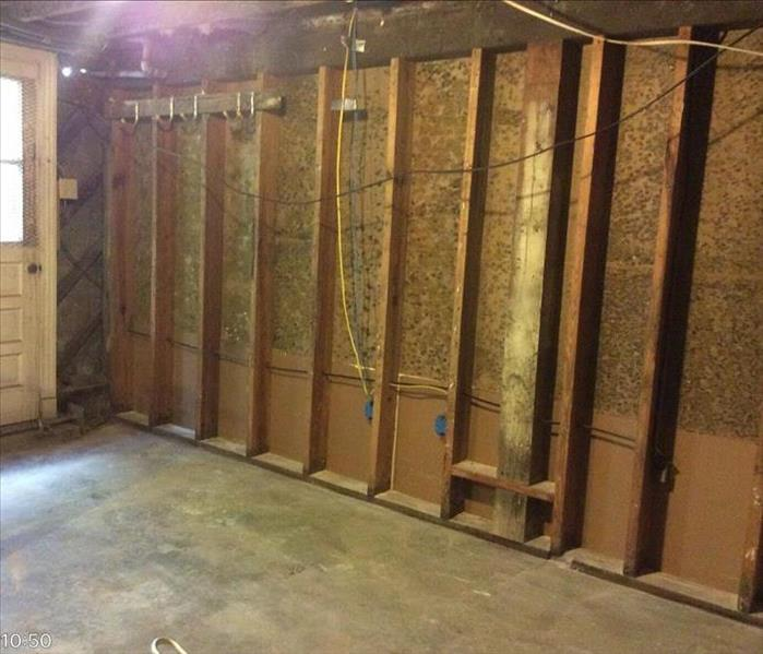 Mold Remediation in New Orleans Home  Before