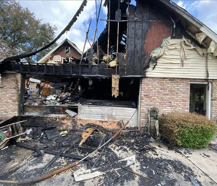 House engulfed by flames in Houma, LA after an electrical fire