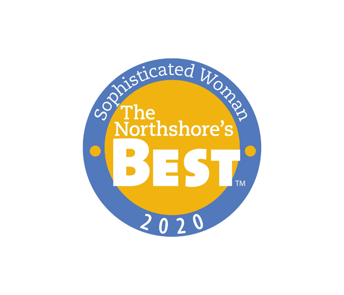blue and yellow logo for Northshore
