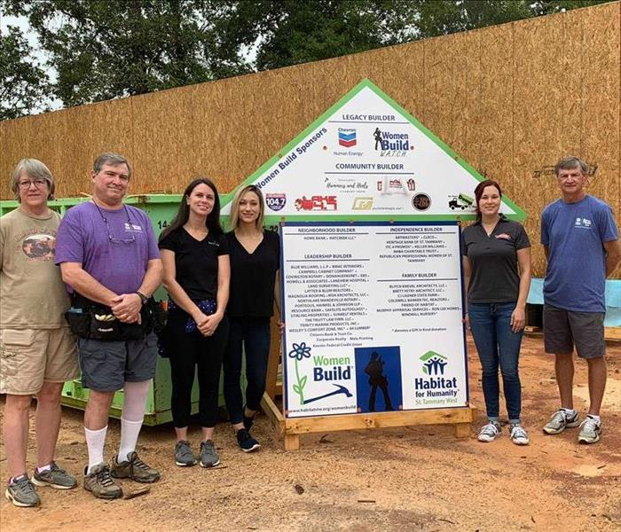 Why SERVPRO Volunteering for Habitat for Humanity St. Tammany West