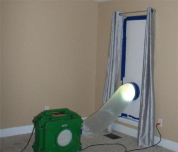 Mold Remediation Mold Removal with Air Scrubber